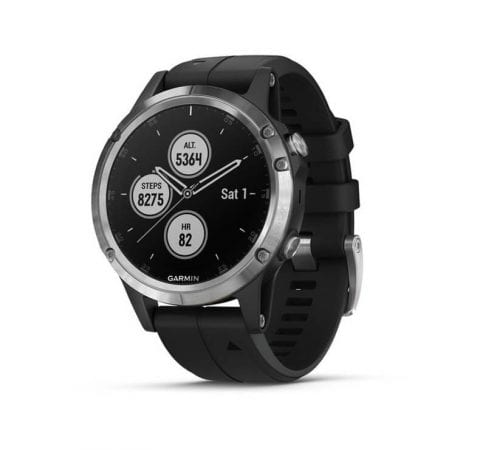 Garmin fenix 5 Plus Silver Black 1 SuperChollos
