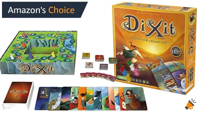 oferta juego de mesa Dixit barato SuperChollos