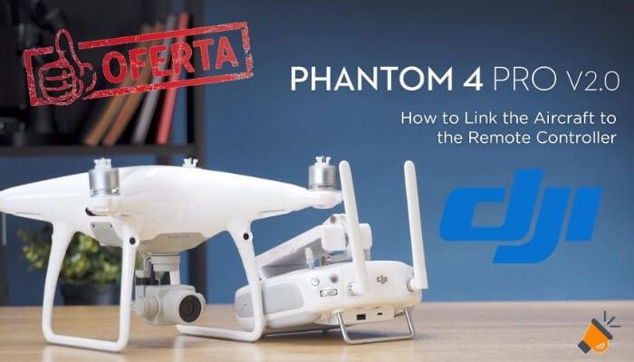 oferta DJI Phantom 4 Pro V2.0 drone barato SuperChollos