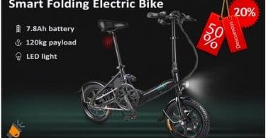 oferta FIIDO D3 Mini Bicicleta Ele%CC%81ctrica barata SuperChollos