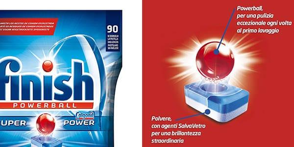 capsulas finish powerball todo en 1 bolsa 90 lavados lavavajillas SuperChollos