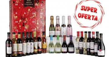 oferta Calendario de adviento de vinos barato SuperChollos