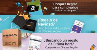 cheques regalo amazon SuperChollos
