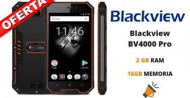 oferta Blackview BV4000 Pro barato SuperChollos