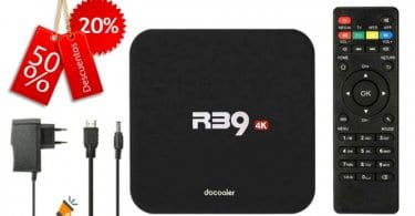 oferta Box Android TV Docooler R39 barato SuperChollos