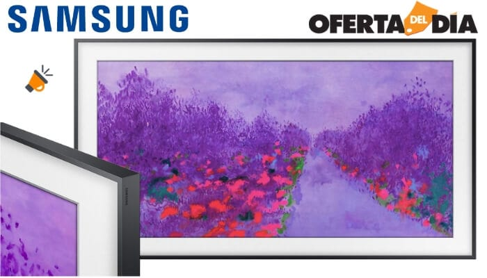oferta Samsung The Frame 2018 49LS03NAU Smart TV barata SuperChollos