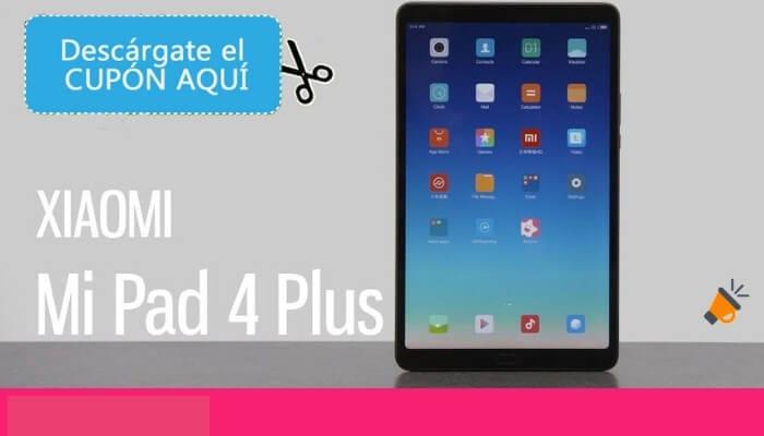 oferta XIAOMI Mi Pad 4 Plus tablet barata SuperChollos