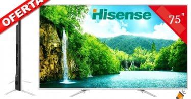 oferta Hisense H75N5800 Smart TV barata SuperChollos