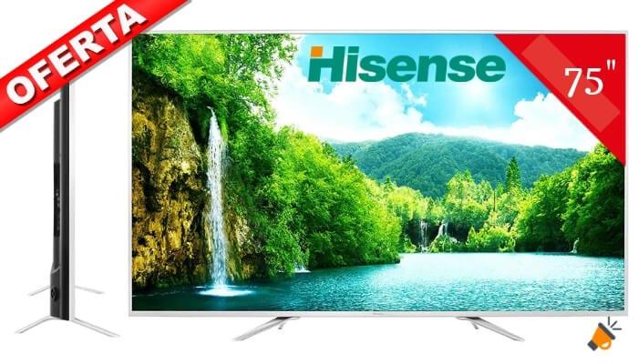 oferta Hisense H75N5800 Smart TV barata SuperChollos