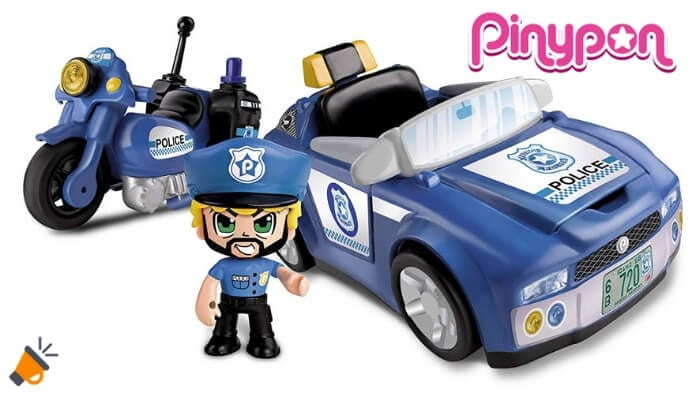 oferta vehiculo de policia pinypon barato SuperChollos