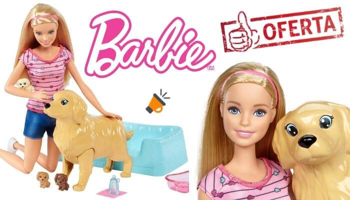 oferta Barbie y sus perritos sorpresa barata SuperChollos