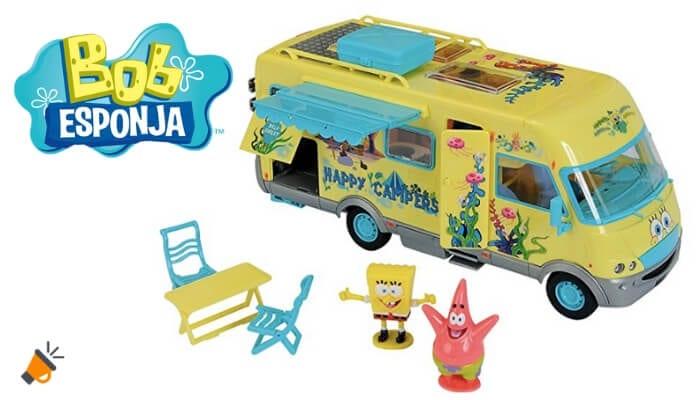 oferta Bob Esponja Caravana barata SuperChollos