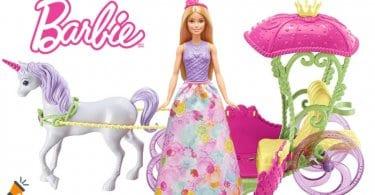 OFERTA Barbie Dreamtopia carroza Reino de Chuches BARATA SuperChollos