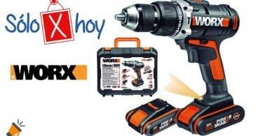 oferta Worx WX372 Taladro percutor barato SuperChollos