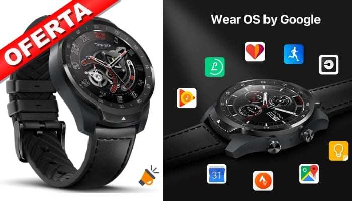 oferta Ticwatch Pro smartwatch barato SuperChollos