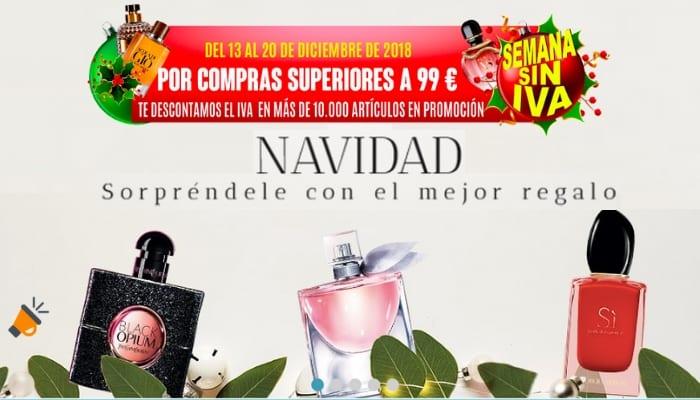 Semana sin IVA en Perfumeri%CC%81as Laguna SuperChollos
