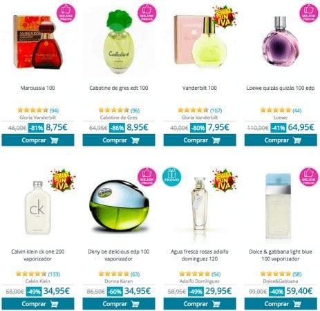 perfumes mujer SuperChollos
