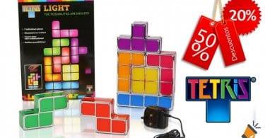 oferta La%CC%81mpara LED tipo Tetris barata SuperChollos