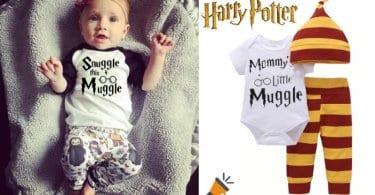 oferta Pijama para bebe%CC%81 Harry Potter barato SuperChollos