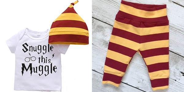 Pijama para bebe%CC%81 Harry Potter SuperChollos