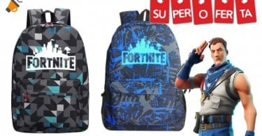 oferta Mochila de Fortnite barata SuperChollos