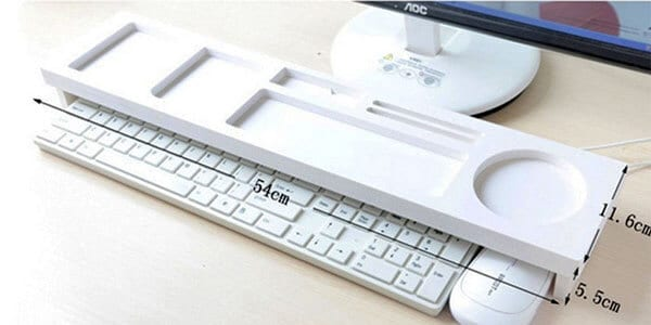 estante organizador escritorio plastico blanco chollo barato SuperChollos