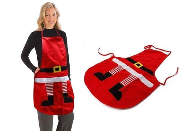 Delantal de cocina para Navidad barato SuperChollos