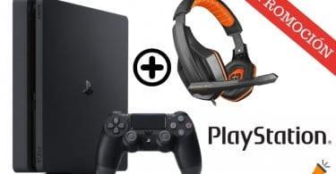 OFERTA PS4 Slim 500GB Auriculares Gaming BARATA SuperChollos