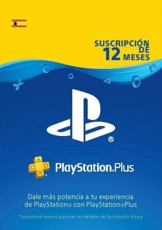 PlayStation Plus Suscripcio%CC%81n 12 Meses Co%CC%81digo de descarga PSN Cuenta espan%CC%83ola SuperChollos