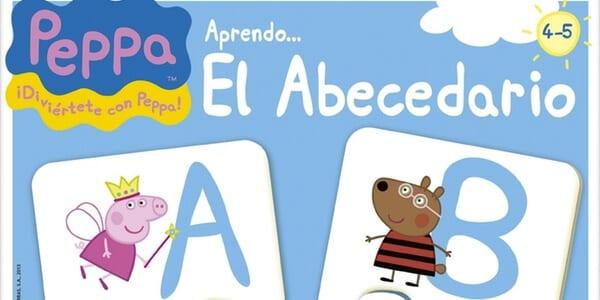 abecedario peppa pig SuperChollos