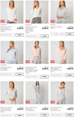 pijamas women secret SuperChollos