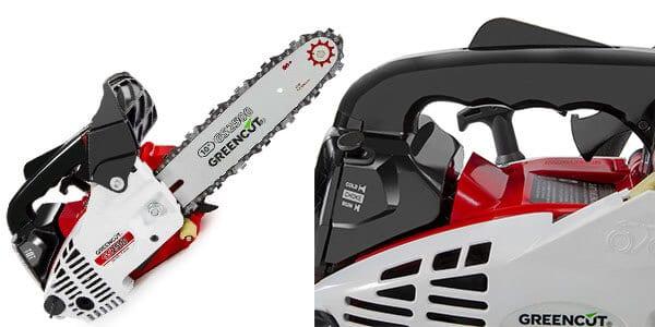 motosierra greencut gs2500 espada 10 pulgadas motor gasolina rebajada SuperChollos