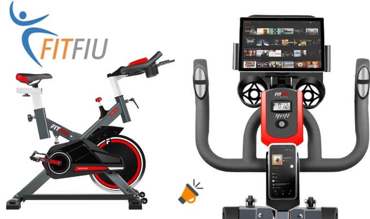 oferta Bicicleta de spinning Fitfiu 16kg barata SuperChollos