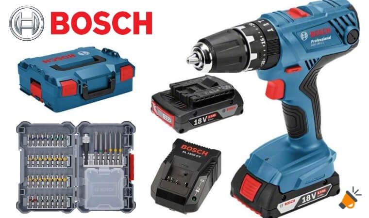 oferta Bosch Professional Taladro percutor barato SuperChollos