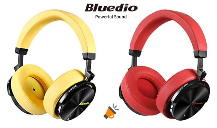 oferta Bluedio T5S Auriculares Bluetooth baratos SuperChollos