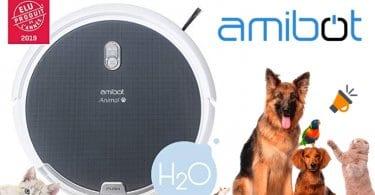 oferta AMIBOT Animal H2O robot aspirador barato SuperChollos
