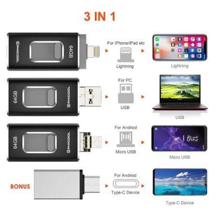 Memoria Flash USB Phicool barata SuperChollos