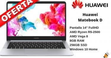 oferta Huawei Matebook D portatil barato SuperChollos