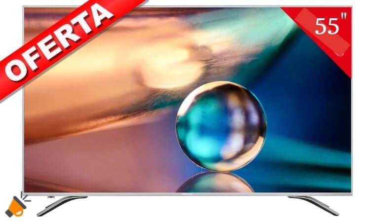 oferta smart tv H55AE6400 barata SuperChollos