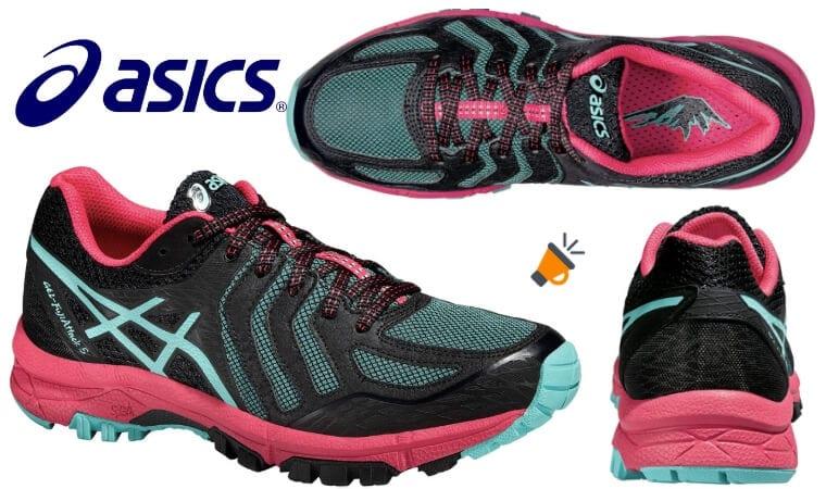 oferta Asics Gel Fuji Attack 5 zapatillas baratas SuperChollos