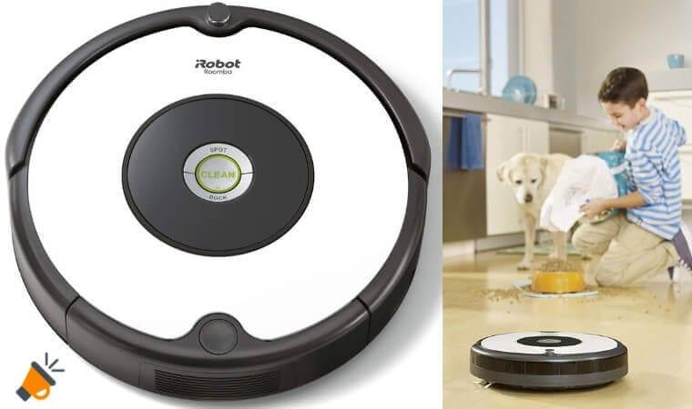 oferta Robot Aspirador Roomba 605 barato SuperChollos