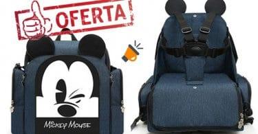 oferta Mochila portapan%CC%83ales de Mickey barata SuperChollos