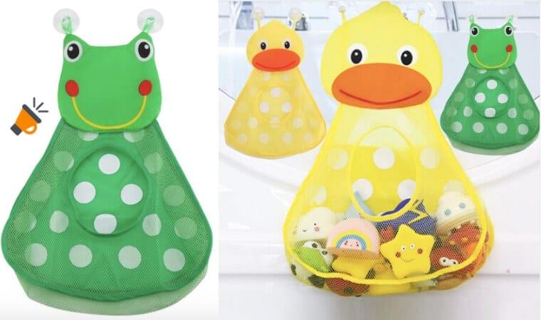 oferta Bolsa de malla para juguetes barata SuperChollos