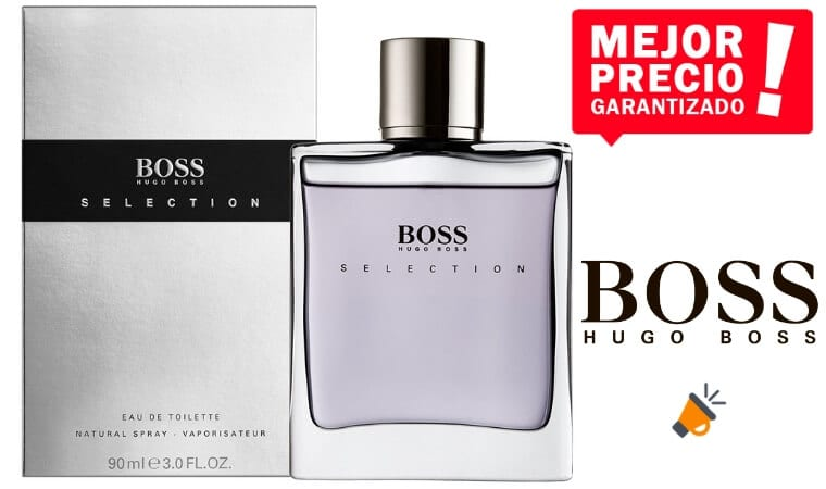 oferta Hugo Boss Boss Selection colonia barata SuperChollos