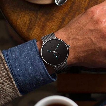 Reloj minimalista CIVO para hombre barato SuperChollos