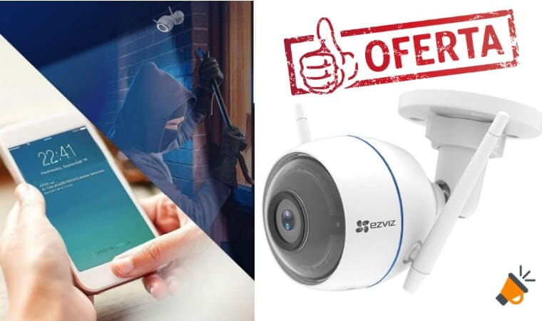 oferta EZVIZ ezTube 1080P Ca%CC%81mara de Seguridad barata SuperChollos