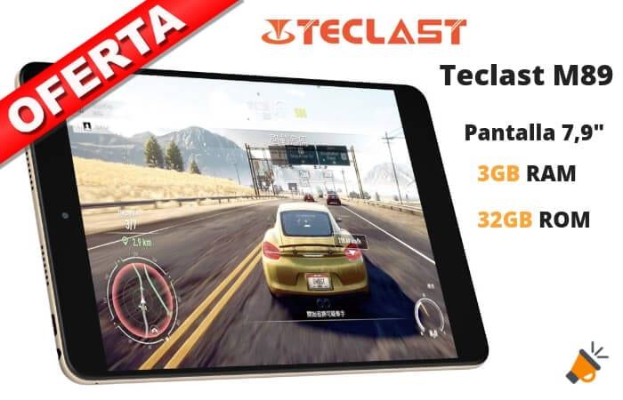 oferta Teclast M89 MT8176 tablet barata SuperChollos