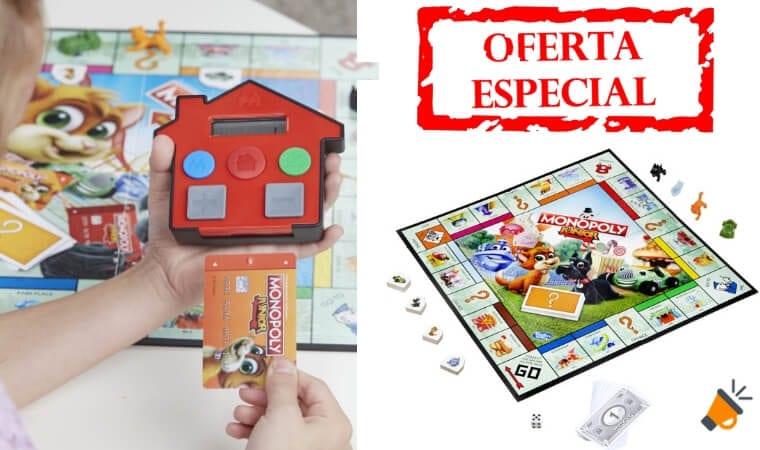 oferta Monopoly Junior Electro%CC%81nico barato SuperChollos