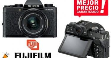 oferta Fujifilm X T100 Ca%CC%81mara Digital barata SuperChollos