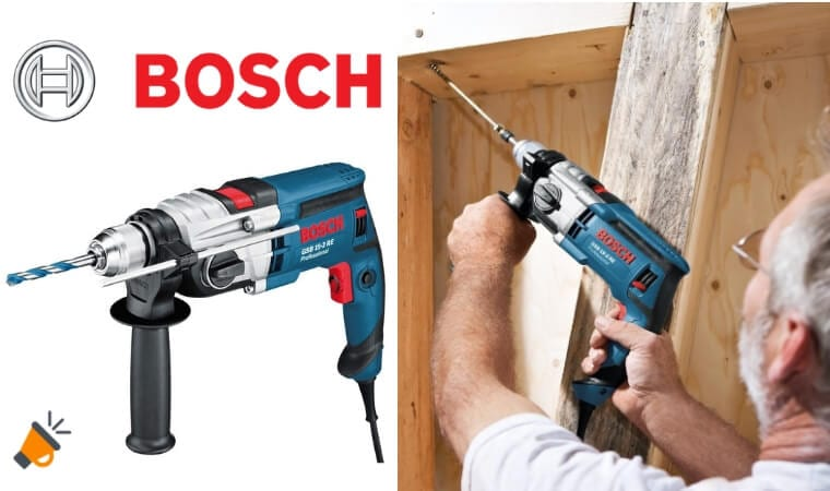 oferta Bosch Professional GSB 19 2 RE Taladro de percusio%CC%81n barato SuperChollos